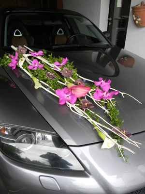 Page Mariage - En Voiture